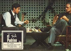 Spanish lobby card for The Godfather (1972)