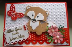 Marianne Vos, Marianne Design, Die Cutting, Handmade Cards, Stamps, Projects To Try, Fox, Scrapbooking, Christmas Ornaments