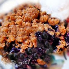 Easy Gluten-Free Blueberry Crisp Recipe