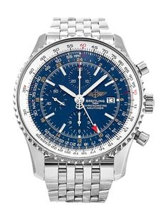 Breitling Navitimer World Chronograph Steel Watch Breitling Superocean Heritage, Breitling Watches, Pre Owned Watches, Watches For Men, Men's Watches, Dream Watches, Watch Sale, Fashion Watches, Shopping
