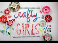 Crafty Girls video by Jonatha Brooke, animation by Kayte Terry