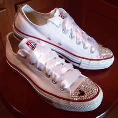 Mickey Mouse ADULT bling Converse by Munchkenzz on Etsy, $115.00