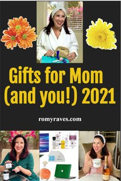 Yeah I'm late, but you know I'm usually late! I own that.. Either way, here are 10 amazing and diverse gifts to celebrate Mother's Day - for you or even for Mom. Enjoy!