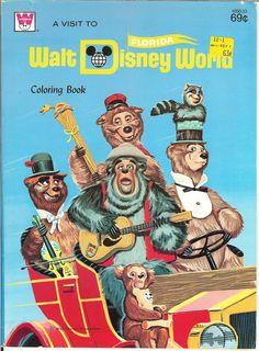 Walt Disney World - Country Bear Jamboree Bear Cover