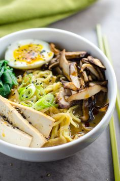 Easy Vegetarian Ramen with Rich Savory Broth | Umami Girl