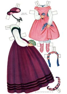 Century Dolls: 8 Dolls Complete with Authentic Wardrobes of the Civil War Years (7 of 20) by Queen Holden, Platt & Munk
