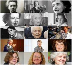 All the women who've won a Nobel Price in Science. Marie Curie (1903 1911), Irene Joliot-Curie (1935), Gerty Radnitz Cori (1947), Maria Goeppert Mayer (1963), Dorothy Crowfoot Hodgkin (1964), Rosalyn Sussman Yalow (1977), Barbara McClintock (1983), Rita Levi-Montalcini (1986), Gertrude Elion (1988), Christiane Nusslein-Volhard (1995), Linda B. Buck (2004), Francoise Barre-Sinoussi (2008), Elizabeth H. Blackburn (2009), Carol W. Greider (2009) and Ada Yonath (2009) #women #STEM #herstory