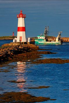 View of Pointe aux Canons Lighthouse at St Pierre and Miquelon, France- by My Planet Experience