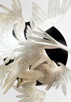 Ideas fantasy art illustrations wings for 2019 Art And Illustration, Art Illustrations, Art Sketches, Art Drawings, Ange Demon, Anime Angel, Pretty Art, Fantasy Creatures, Mythical Creatures