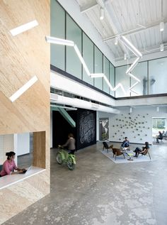 Evernote Office Interiors - office design office design office space office space concept office building o+a Office Space Design, Workplace Design, Office Interior Design, Office Spaces, Evernote, City Office, Open Office, Small Office, Corporate Interiors