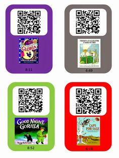 Where the Wild Things Read: qr code stories