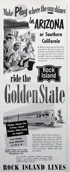 Kind-Hearted 1941 Southern California Ca Rock Cliff Vintage Travel Commerce Vacation Ad Last Style Advertising