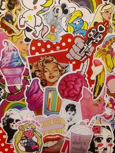 Girlie Mixed Media Stickers 10