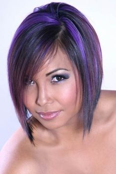 29 Trendsetting Purple Hair Color Ideas for Short Hair for a Chic Look - Short Pixie Cuts Short Emo Hair, Edgy Hair, Short Hair Styles, Short Pixie, Deep Purple Hair, Hair Color Purple, Purple Colors, Purple Streaks, Emo Hair Color