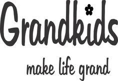 stencil grandkids make life grand, grandparents, art, decor, sign, birthday, christmas, i love you, grandbaby, grandma, grandpa, decor, home
