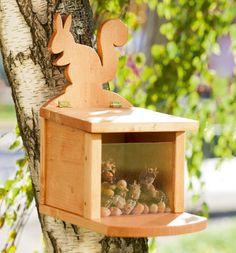 vogelhaus holz umweltfreundlich diy selber bauen | bei mir piept`s ... - Aus Naturmaterialien Bauen