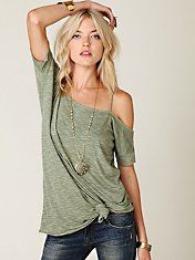 Free People We The Free Off the Shoulder Extreme Tunic #freepeople #fashion #clothing