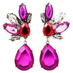 Mystique Chandelier Earrings found on Polyvore