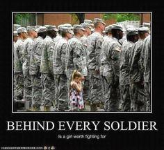 Military children...