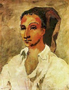 Pablo Picasso - Joven Español, 1906