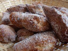 Les schangalas - Beignets de carnaval Alsaciens - Recette d'Alsace  -   French beignets recipe for Mardi Gras!!