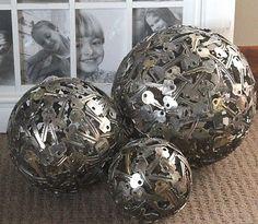 Bolas decorativas ou, decorando com o que temos em casa | Vila do Artesão