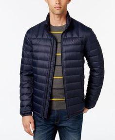 Tommy Hilfiger Nylon Packable Jacket - Blue XXL