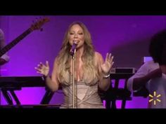 "Mariah Carey - ""Vision of Love"" / ""Infinity"" / ""Always Be My Baby"" (Live at Wal-Mart Shareholders) - YouTube"