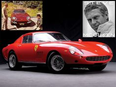 Steve McQueen Ferrari 275 GTB4 restored at Ferrari factory.