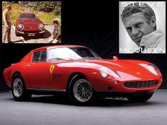 Steve McQueen Ferrari 275 GTB4 restored at Ferrari factory.