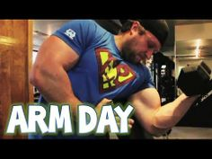 Ultimate Arm (Biceps/Triceps) Bodybuilding Workout | Furious Pete (+play...