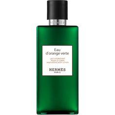 HERMÈS Eau d`Orange Verte Mois Body Lotion (£37) ❤ liked on Polyvore featuring beauty products, bath & body products, body moisturizers, body moisturizer, body moisturiser, perfume cologne, hermes perfume and hermès