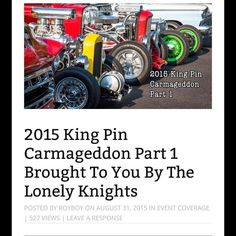 This weekend I head back to Colorado Springs for #KingPinCarmageddon ! See last year's coverage on royboyproductions.com