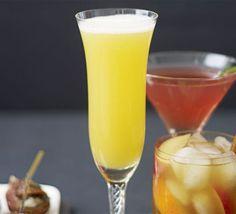 AMARETTO FIZZ:  Mix Disaronno, orange juice and sparkling wine in a jug. Add a strip orange zest to each glass, if you like.