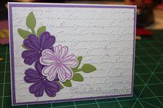 Stampin up Flower Shop