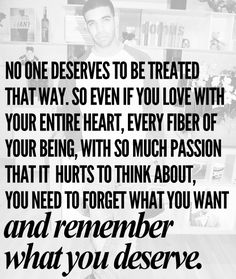 Definitely time to get what I deserve. I've managed to not only go through a difficult 9yr relationship/marriage/divorce, and still managed to find the ones that only hurt me in the end. One day i'll find someone that that actually gives as much as I do.