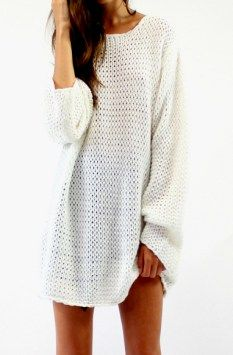 Lioness ari knitted tunic $59.95 in creamy white available at www.threadsandstyle.com.au