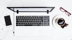 Macbook Pro Between Smartphone And Teacup On White Surface Hd Wallpaper Famous Art Pieces, How To Make Money, How To Become, Reverse Image Search, Pretty Images, Blog Images, Free Images, High Resolution Photos, Workbenches