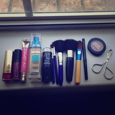 Makeup bundle Everything is left! Open to trades. Preferably makeup. Brands I like: tarte, two faced, ect. Makeup
