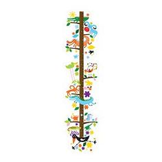 """IKEA - ROKNÄS, Decorative stickers, With ROKNÄS on the wall your children can measure how tall they are and see how much they've grown (up to 55"""")."""