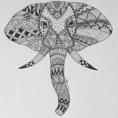 Hi  This is my elephant head line drawing, on thick paper in fine liner pen. It is an original drawing, and NOT a print. It is 10 x 8 in size.  It is already framed with glass front and will be posted well wrapped and protected. The frame can be hung or stood up alone. Check out some of my other listings for similar work. Thanks for looking, and please get in touch if you have any questions :-)