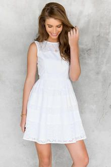 Salena Eyelet Dress