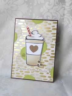 Coffee Cafe, new Stampin Up Coffee To Go, Coffee Love, Coffee Break, Card Making Inspiration, Making Ideas, Coffee Cards, Stampin Up Catalog, Tampons, Scrapbook Cards