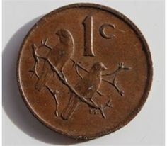 South Africa (Zuid Afrika), Copper Coin, 1 cent, very fine,
