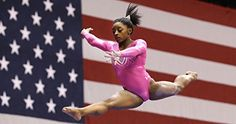 Simone Biles Sports Poster Photo Limited Print Sexy Celebrity USA Olympic Gymnastics Athlete Size 3 *** Check out the image by visiting the link. Simone Biles, Usa Olympics, Rio Olympics 2016, Laurie Hernandez, Olympic Trials, Female Gymnast, Olympic Gymnastics, Ballet, Time Magazine