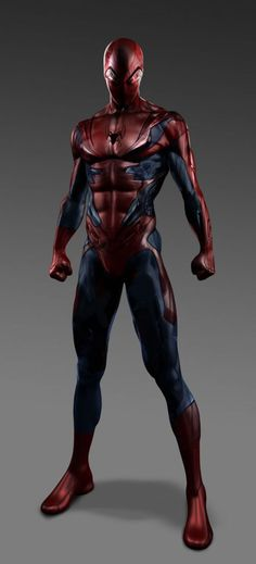Some Alternate Supersuit Designs for 'The Amazing Spider-Man' | Rope of Silicon