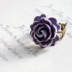 Ring. Jewelry, Vintage, Rose
