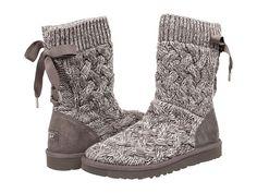 UGG Isla Heathered Grey/Knit - Zappos.com Free Shipping BOTH Ways