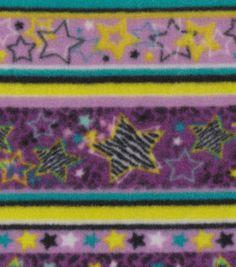 Anti-Pill Fleece Print- Starstripe Diva & fleece fabric at Joann.com