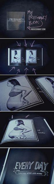 make a pregnancy keepsake book!